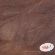 Venda quente óleo encerado imitação de couro para uso de sofá