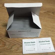 Écouvillon d'alcool d'isopropy de 70% avec l'approbation de la CE (DFS1001)