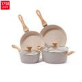 Amazon Bakelite Handle Aluminium Induction Camping Cookware