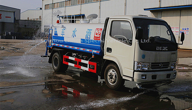 water transport tank truck