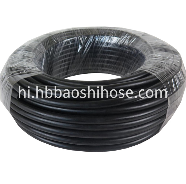 Fiber Braided Two Layers Rubber Pipe