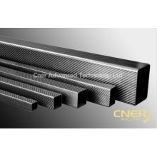 Tubo cuadrado de alta calidad de fibra de carbono 3K, poste, tubo, varilla