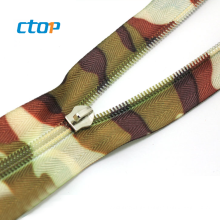 Factory close end the best and cheapest customized waterproof airtight zipper zips for clothes custom zipper