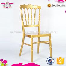 Nouvelle chaise de banquet en aluminium Qindao Sinofur