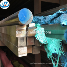 Vara quadrada inoxidável em conserva 304/316 haste quadrada de aço inoxidável preço por kg