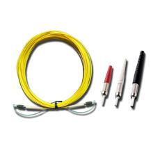 Одношпиндельный оптоволоконный патч-корд DIN-DIN Singelmode