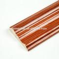 Moldura de corona de zócalo de madera de papel melamina
