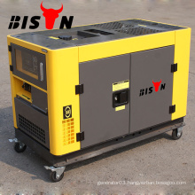 BISON(CHINA)15kw China Honda Silent Soundproof 15kva Silent Diesel Generator Price