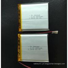 Bateria Li-Polymer de 4000 mAh 3.7V 906065 Bateria de íon de lítio