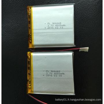 Batterie Li-Polymer 4000mAh 3.7V 906065 Batterie Lithium-Ion