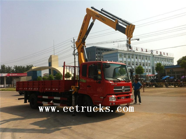 Telescopic Crane Trucks