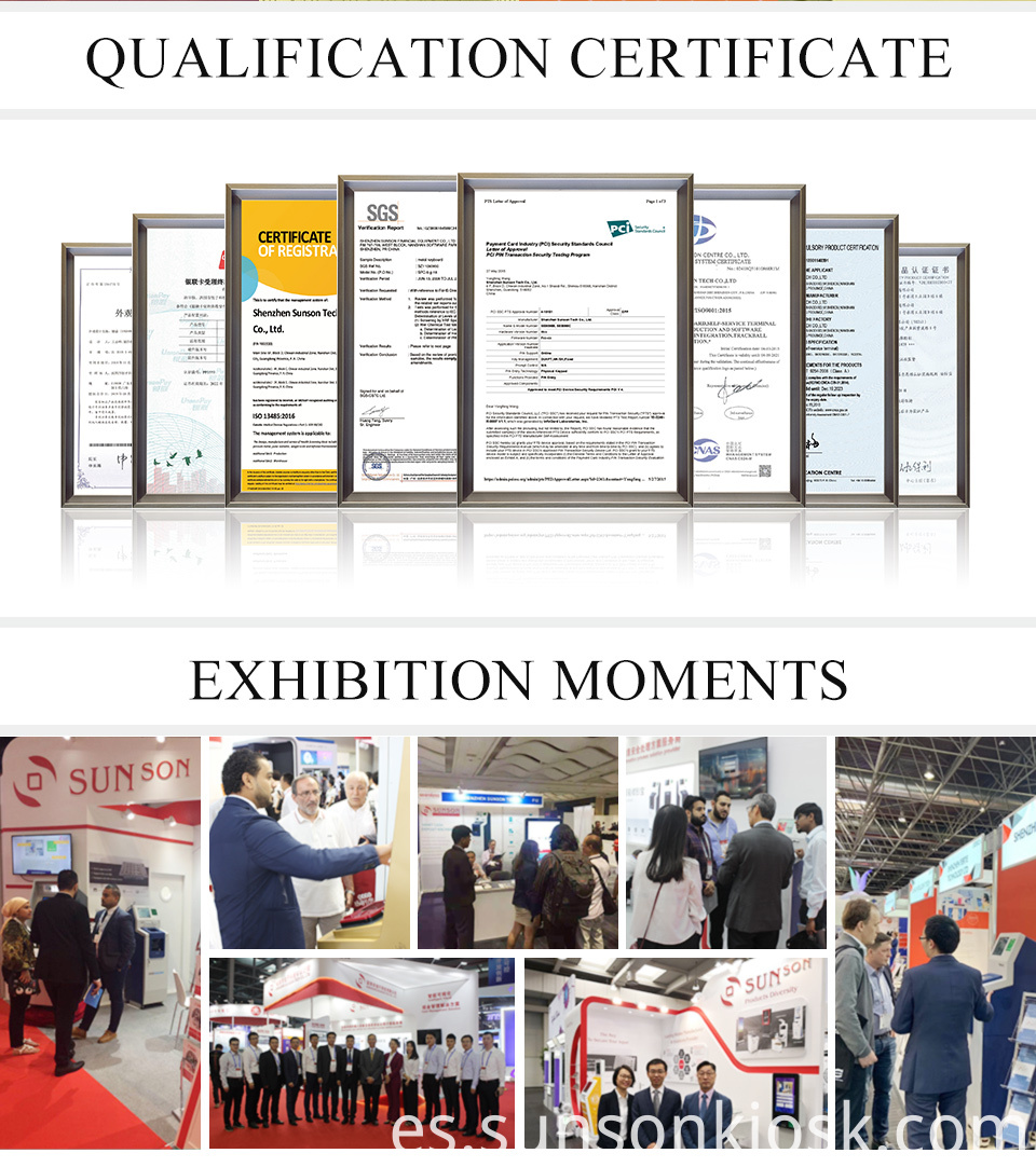 certification and exhibition
