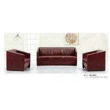 Темно красные кожаные диваны офисные (8523)