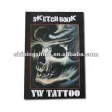 2016 hot sale professional skull tattoo design book