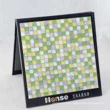 Foshan Wholesale Bright Color Glass and Stone Mosaic Supplies