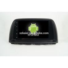 Quad core! Android 4.4 / 5.1 dvd de voiture pour MAZDA CX-5 avec écran capacitif 9inch / GPS / lien miroir / DVR / TPMS / OBD2 / WIFI / 4G