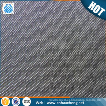 75 malla 100 99,9% pantalla de malla de alambre tejido de tungsteno puro