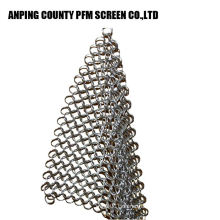 Chain Mail Cast Iron Scrubber Chainmaille Cleaner