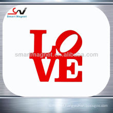 Copper paper or PVC with full imprint customized car magnet