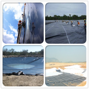 0.5-1.0mm Artificial Lake Liner HDPE Geomembrane Precio