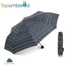 2018 Hot New Products Fantaisie Mesdames Parapluies Strong parapluie pliant