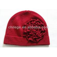 dames hiver tricoté casquettes de cachemire / chapeaux