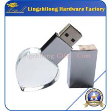 Laser Engraving Custom Crystal USB