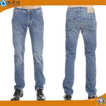 Brand Mens Jeans Slim Straight Pants Denim Trousers for Men