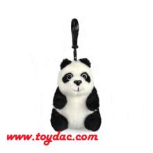 Ultra-weicher Mini-Panda-Schlüsselanhänger