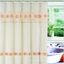 Populärer transparenter Druck-PEVA-Duschvorhang