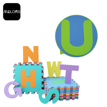 Melors Baby Room Jouer Gym Letters Puzzle Mat