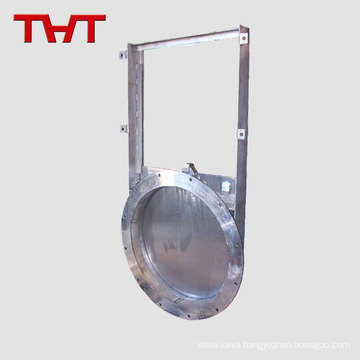 Fabricated steel round sluice gate-penstock for water treatment