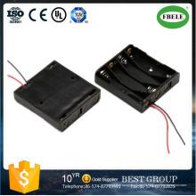 Soporte de batería 18650 Soporte de batería AA de cable rojo y negro