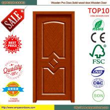 Новый простой конструкции ПВХ деревянные двери
