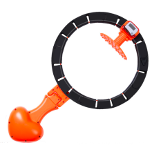 non-drop digital count new product Gym Equipment Hula Hoop with Exercise Ball exercise hula hoop ring