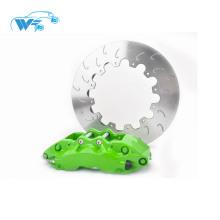 Haute performance en aluminium matériel CNC machine Auto partie de frein avec 355mm Disque de frein pour ALPHARD WT9040 étrier de frein