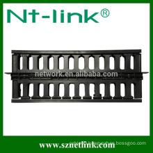 19 standard fiber optic cable management