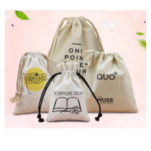 Wholesale eco friendly cheap drawstring bag canvas jewelry package bag market Promotion pouch