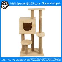 Горячие продажи кошка восхождение дерево туфелька Кот scratcher и кровать