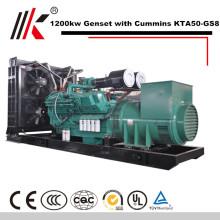 generador diesel del motor 1200KW 1500kva generador diesel del imán permanente del aceite pesado