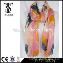 eco-friendly dye mori girl style fashionable all-match beautiful acrylic scarf anti-pilling