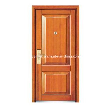 Стальная деревянная дверь (компания fxgm-А108)
