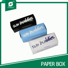 Handgefertigte bedruckte Sonnenbrillen Papier Verpackung Box