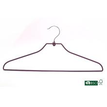 Eisho Garment Hanger Forte usine d'approvisionnement PVC PVC Hanger