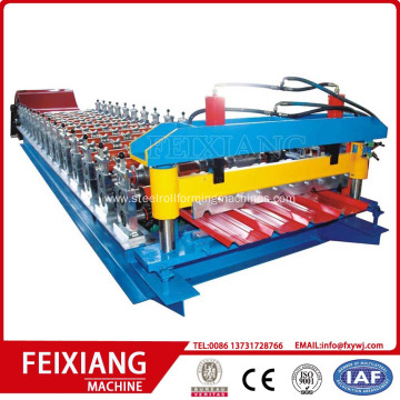 Trapezoidal Metal Roof  Roll Forming Machine