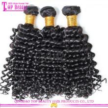 Оптовая Циндао 5А Виргинские ранг волос 20 дюймов Виргинские монгольский kinky вьющиеся волосы