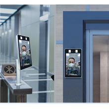 Face Recognition Temperature Detection Camera