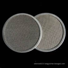 Edge Sealed Wire Mesh Filter Disc