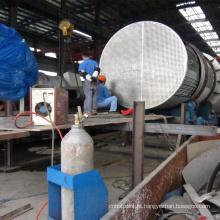 Trocador de calor com aletas de alta quantidade