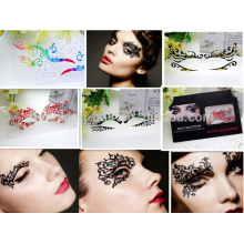 Fashion Decorative eye tattoo, eyeliner sticker for make up